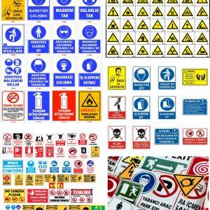 Uyarı Etiket Ve Levhaları